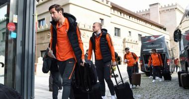 Шахтер прибыл в Испанию на игру с Сельтой