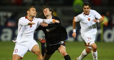 Лион - Рома 4:2 Видео голов и обзор матча Лиги Европы