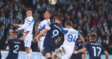 Мальме - Динамо 4:3 видео голов и обзор матча Лиги Европы