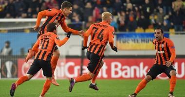 Шахтер уничтожил Гент в домашнем матче Лиги Европы