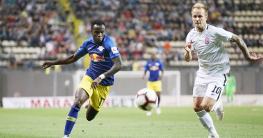 Заря – Лейпциг 0:0 видео обзор матча Лиги Европы