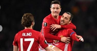 Манчестер Юнайтед - Сент-Этьен 3:0 Видео голов и обзор матча Лиги Европы