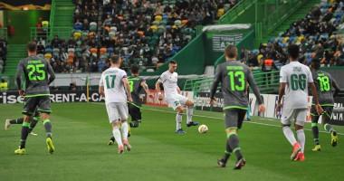 Спортинг – Ворскла 3:0 видео голов и обзор матча Лиги Европы