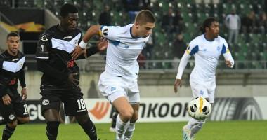 Лугано - Динамо 0:0 видео обзор матча Лиги Европы