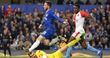 Челси - Славия 4:3 видео голов и обзор матча Лиги Европы
