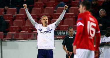 Теодорчик спас Андерлехт от поражения, забив очередной гол