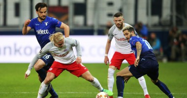 РБ Зальцбург – Лацио 4:1 видео голов и обзор матча Лиги Европы