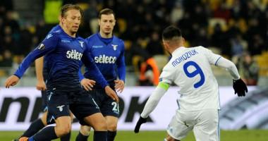 Динамо – Лацио 0:2 видео голов и обзор матча Лиги Европы