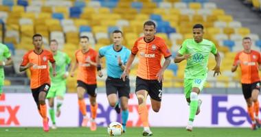 Шахтер - Вольфсбург 3:0 видео голов и обзор матча Лиги Европы
