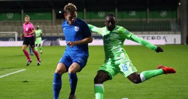 Вольфсбург - Десна 2:0 видео голов и обзор матча квалификации Лиги Европы