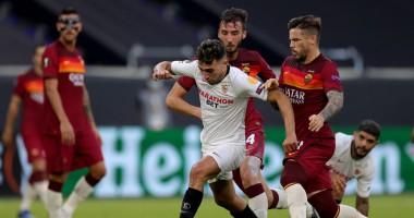 Севилья - Рома 2:0 видео голов и обзор матча Лиги Европы
