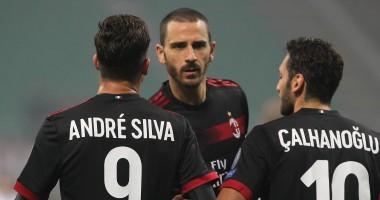 Милан – Аустрия 5:1 видео голов и обзор матча