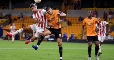 Вулверхэмптон - Олимпиакос 1:0 видео гола и обзор матча Лиги Европы