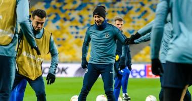 Челси в Киеве: лучшие фото с тренировки лондонцев перед матчем против Динамо