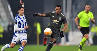 Реал Сосьедад — Манчестер Юнайтед 0:4 видео голов и обзор матча Лиги Европы