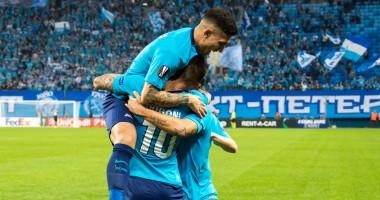 Зенит – Реал Сосьедад 3:1 видео голов и обзор матча Лиги Европы