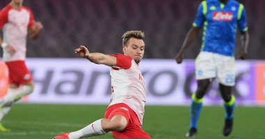 Зальцбург - Наполи 3:1 видео голов и обзор матча Лиги Европы