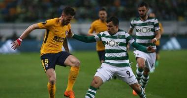 Спортинг – Атлетико 1:0 видео гола и обзор матча Лиги Европы