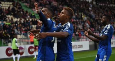 Ляказетт забил классный гол пушечным выстрелом в Лиге Европы
