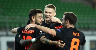 ЛАСК - Манчестер Юнайтед 0:5 видео голов и обзор матча Лиги Европы
