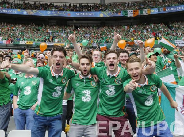 Болельщики сборной Ирландии опять показали себя
