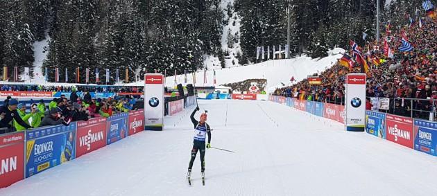 Биатлон: Дальмайер выиграла гонку преследования, Семеренко отыграла пять мест