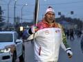 Валуев едва не проспал эстафету олимпийского огня