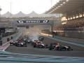 Гран-при Абу-Даби: Невероятный прорыв Феттеля и две аварии