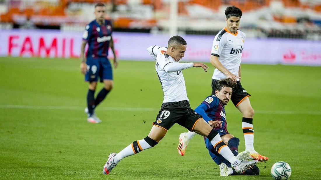 Валенсия - Леванте: видео голов и обзор матча