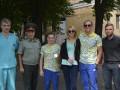 Украинские олимпийцы навестили воинов АТО