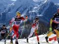 Зимние виды спорта: Лыжные гонки - взмах палок