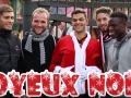 Французский футболист переоделся Дедом Морозом и поздравил фанатов с праздниками