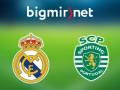 Реал Мадрид - Спортинг 2:1 трансляция матча Лиги чемпионов