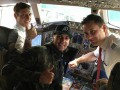Игрок Динамо провел ревизию в кабине пилотов