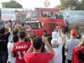 Герои: Сборную Албании встретили тысячи болельщиков и глава государства