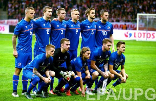Участник Евро-2016 - сборная Исландии