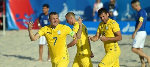 Сборная Украины по пляжному футболу с победы стартовала  в отборе к Евролиге-2021