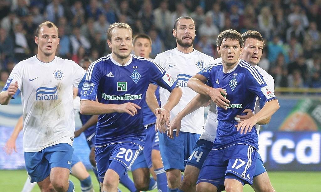 Динамо и Днепр выдали зрелищный матч