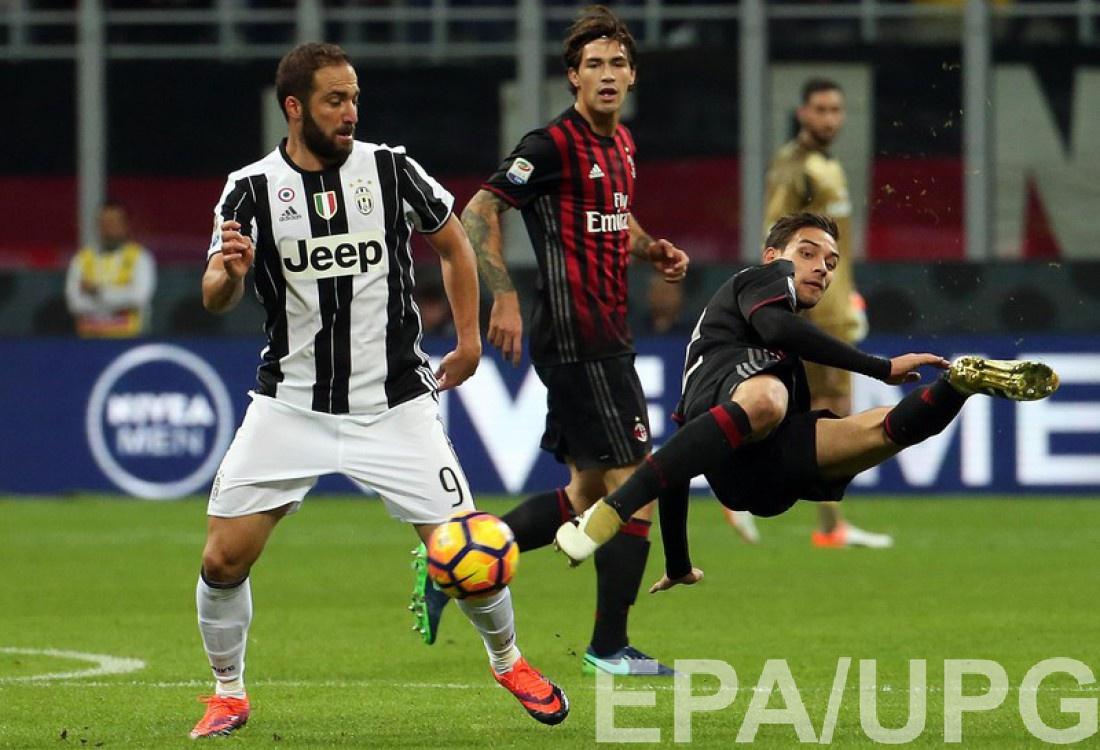 Балотелли восхитился победным голом футболиста Милана вигре сЮвентусом