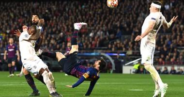 Барселона - Манчестер Юнайтед 3:0 видео голов и обзор матча ЛЧ