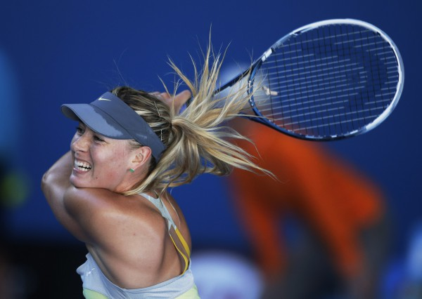 Шарапова очень уверено играет на Australian Open