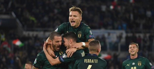 Италия пробилась в финальную часть Евро-2020