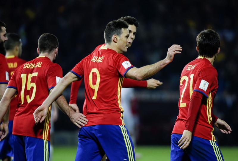 Таблица чм испании по футболу 2017