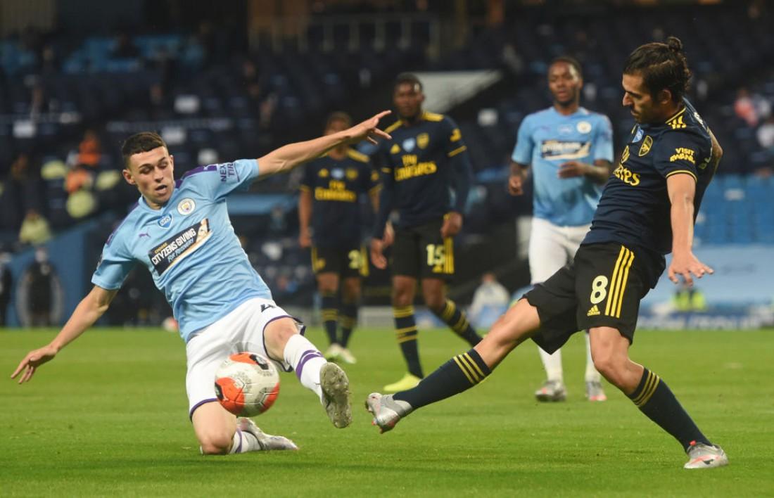 Манчестер Сити - Арсенал: видео голов и обзор матча