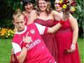 Фанат Арсенала женился в форме клуба