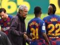 Игроки Барселоны повздорили с тренерами на тренировке