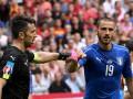 Бонуччи признан лучшим игроком матча Италия - Испания