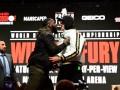 В Лас-Вегасе отменили финальную битву взглядов Уайлдера и Фьюри