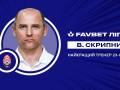 Скрипник признан лучшим тренером минувшего тура чемпионата Украины