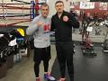 Усик поддержал россиянина Ковалева после поражения от Уорда